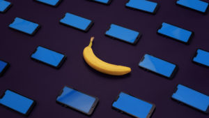 Webkey Supported Android devices and a banana